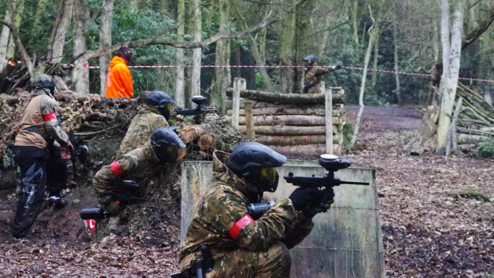 paintball barricades