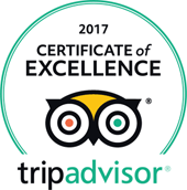 tripadvisor certificate of excellence 2017